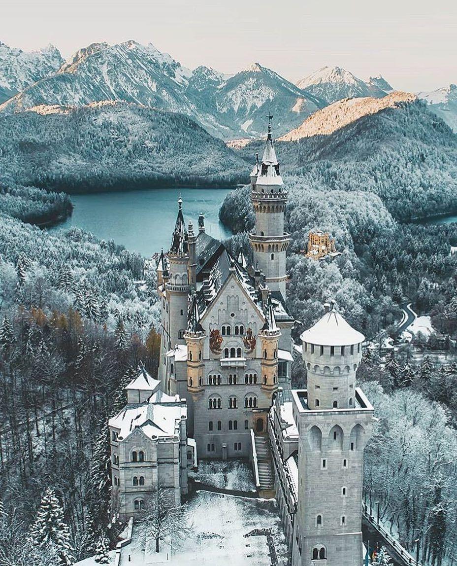 Schloss N Euschwanstein By Daniel Weissenhorn On Ig Via Awesome Phototrip Neuschwanstein Castle Germany Castles Beautiful Castles