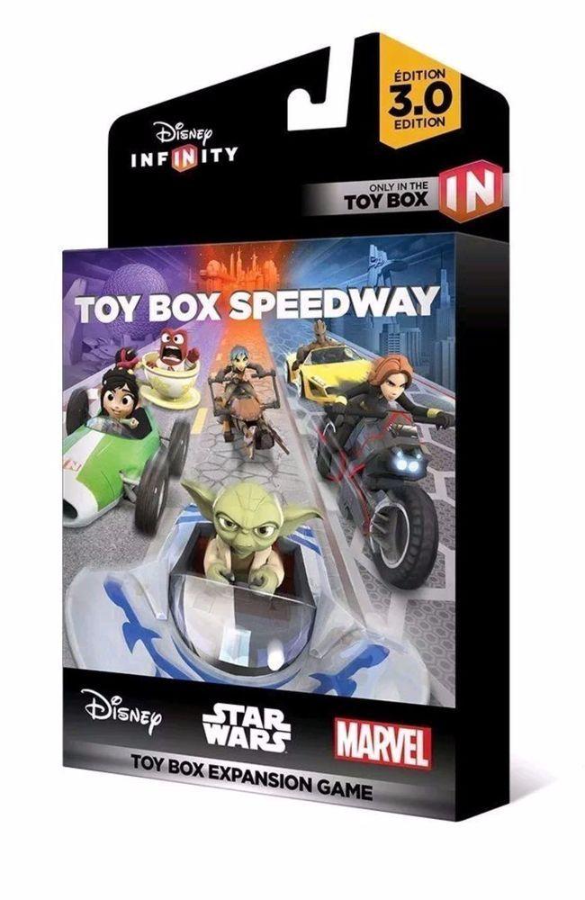Disney Infinity 3 0 Edition Toy Box Speedway Toy Box Expansion Game Disney Infinity Disney Interactive Star Wars Toys