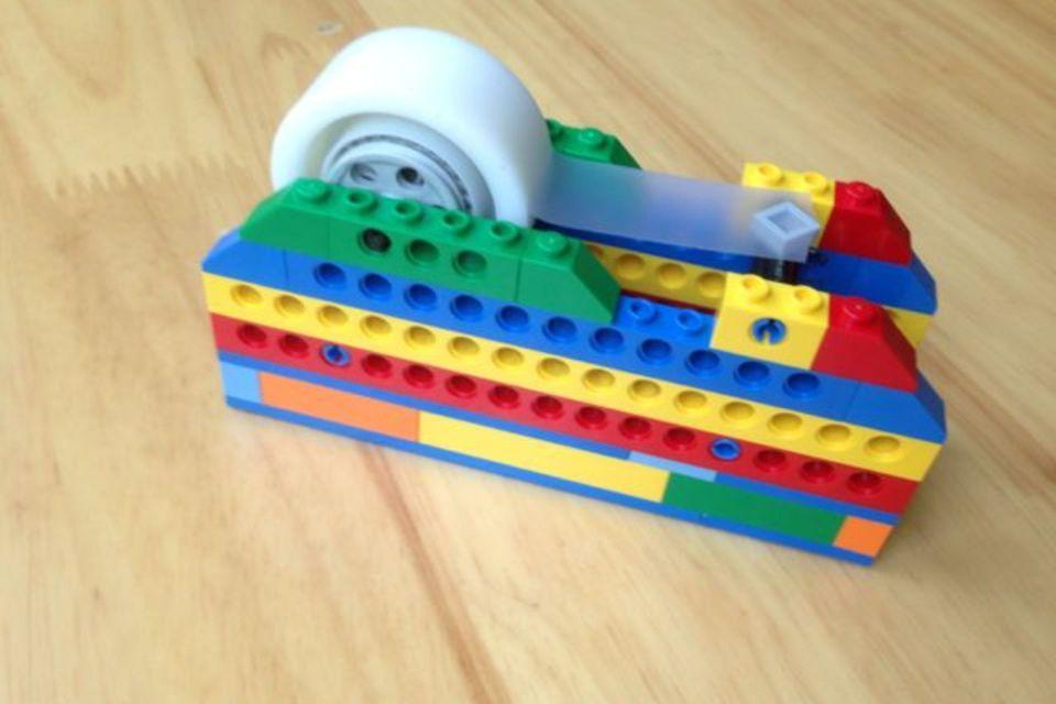Lego Tape Dispenser | Diy org, Tape dispenser and Lego