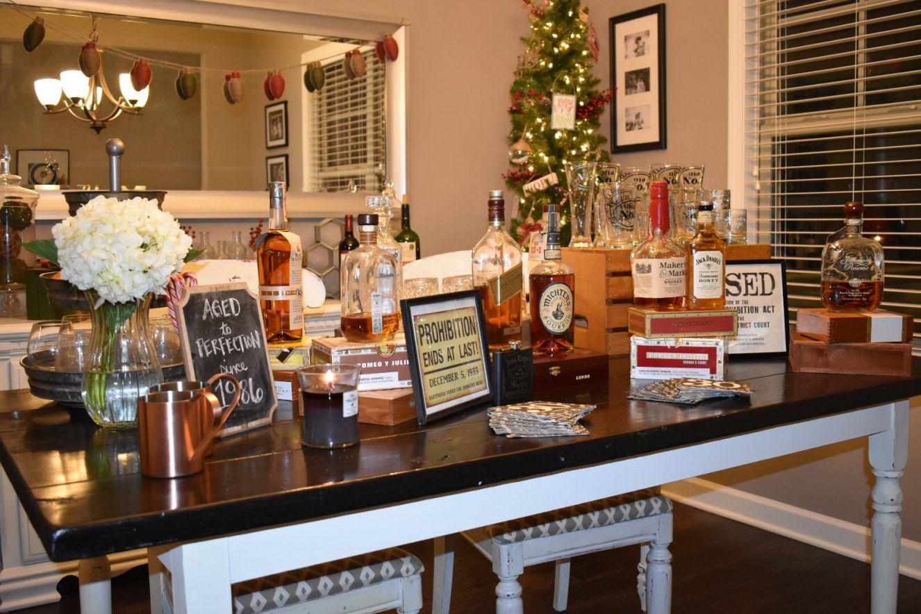 Bourbon & Whiskey Theme 30th Birthday Cigar birthday