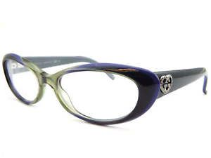 f39aeabcc3 GUCCI women s 51mm Green-Purple-Black Spectacles RX Glasses Frame GG3515  WOC