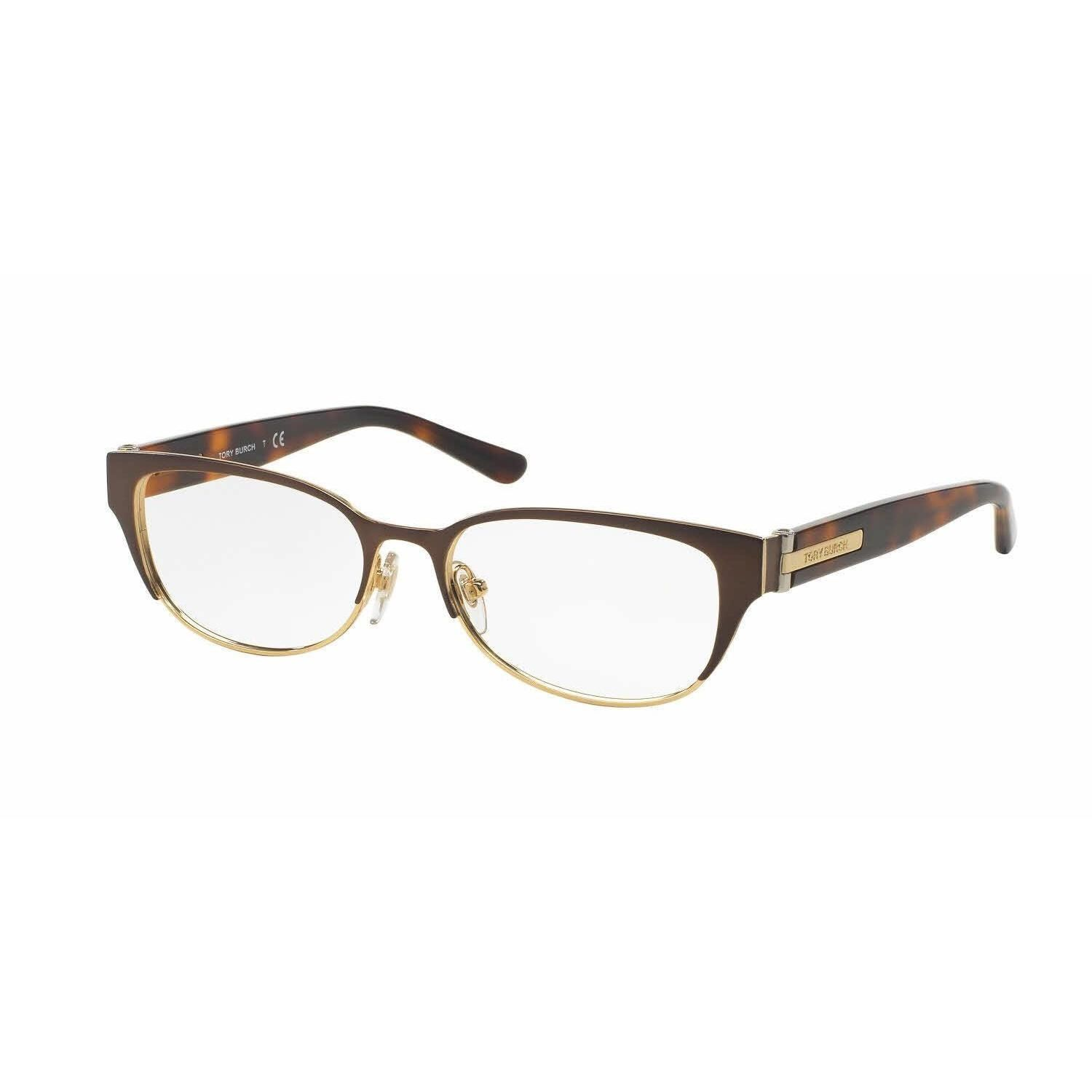8c4c93e9cd Tory Burch Womens TY1045 3128 Bronze Copper Cat Eye Eyeglasses ...