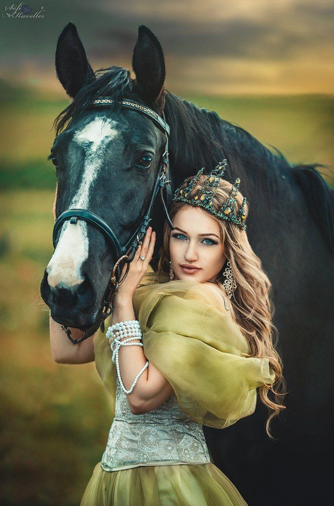 Картинки дамы на лошадях