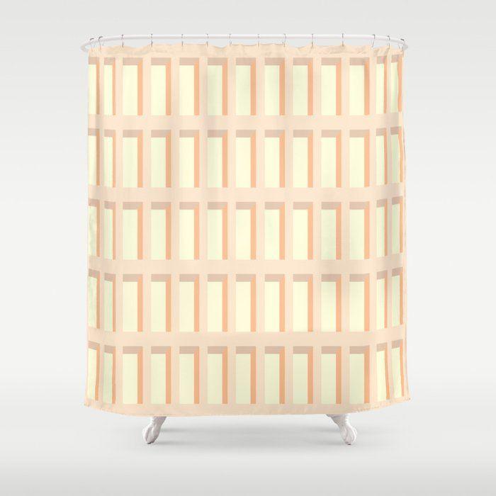 Nordic Bathroomdesign: Buy Mid-Century Modern Shower Curtain By Bitart On