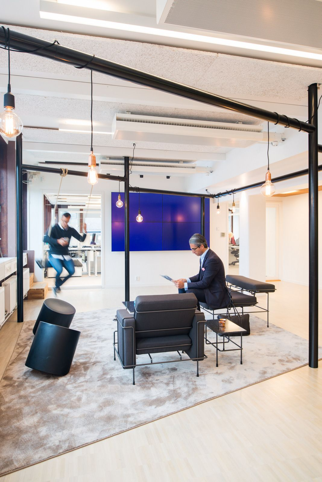stockholm office. ps arkitektur has designed the new offices of fin tech company trustly located in stockholm, sweden. is a young and fast growing company. stockholm office o
