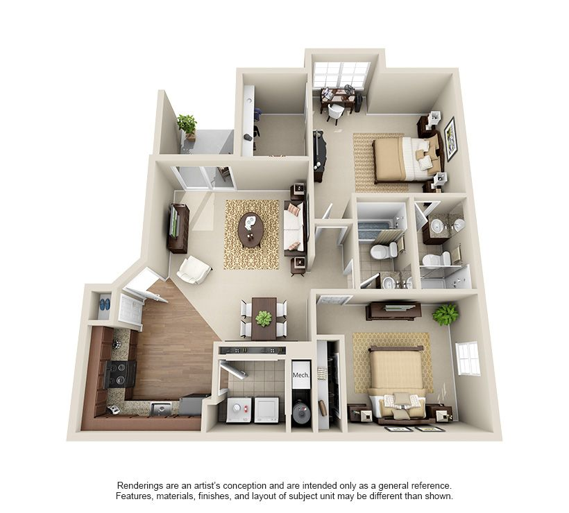 1 2 3 Bedroom Apartment Homes For Rent Hilliard Grand Dublin Ohio Apartment Steadfast Studio Apartment Floor Plans Renting A House Apartment Layout