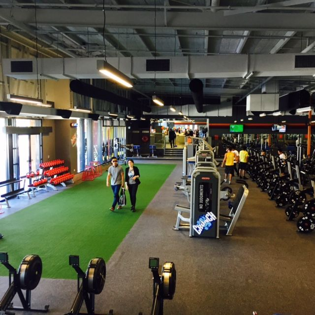 Crunch Fitness Australia Basketball Court Gym Australia