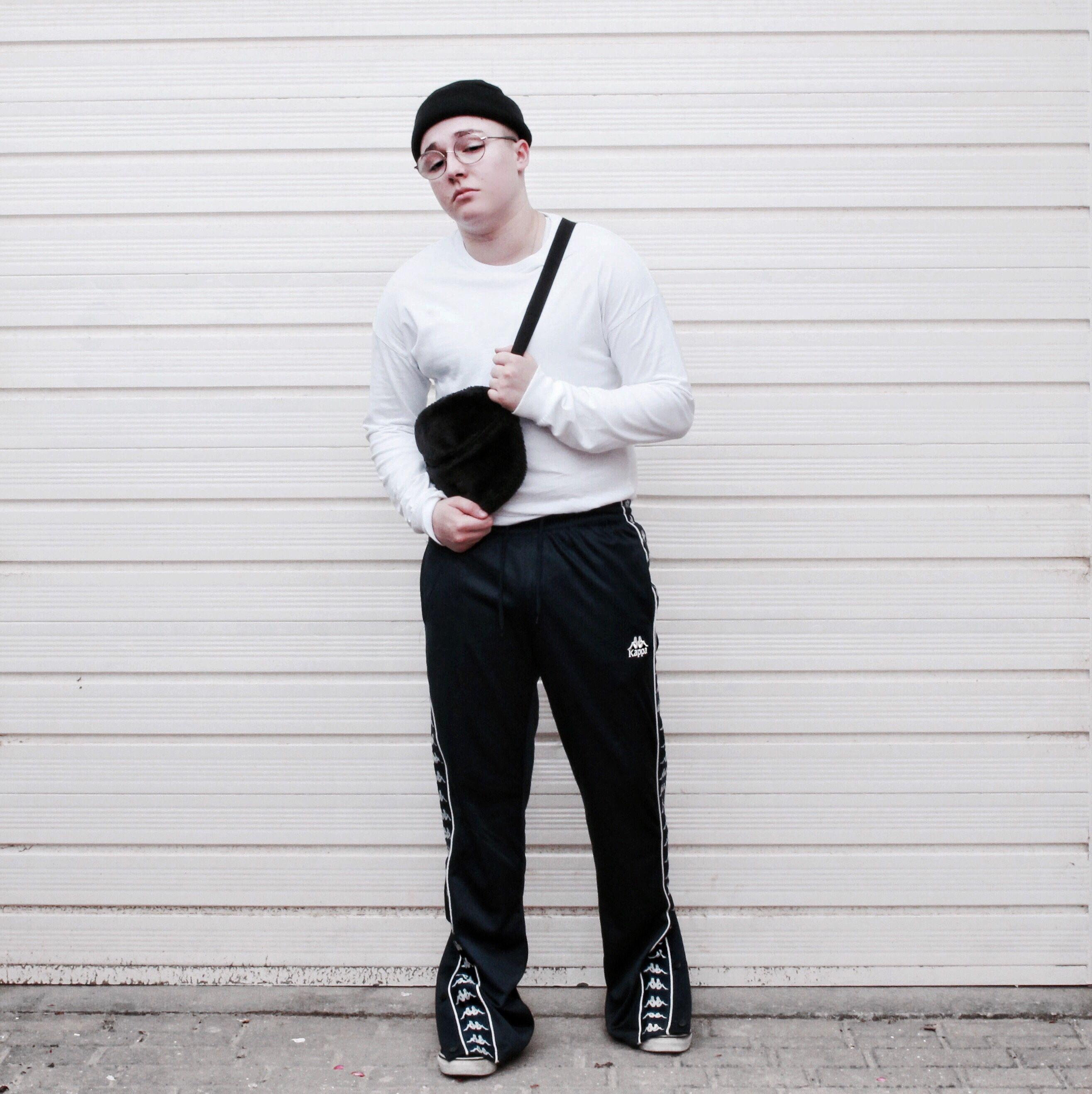 Mens Streetwear Outfit // Kappa // Vans // ASOS // Sam Barnes