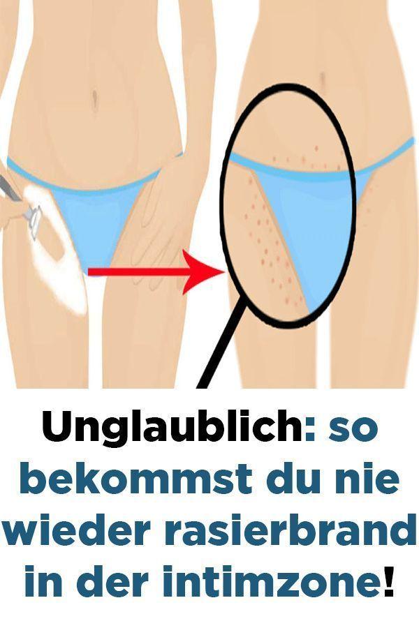 Bikinizone Rasieren Tipps