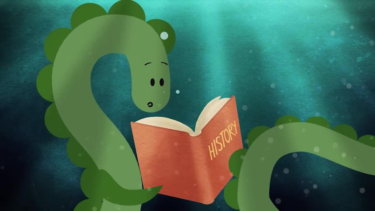 Nessie The Loch Ness Monster Loch Ness Monster The Loch History For Kids [ 720 x 1280 Pixel ]