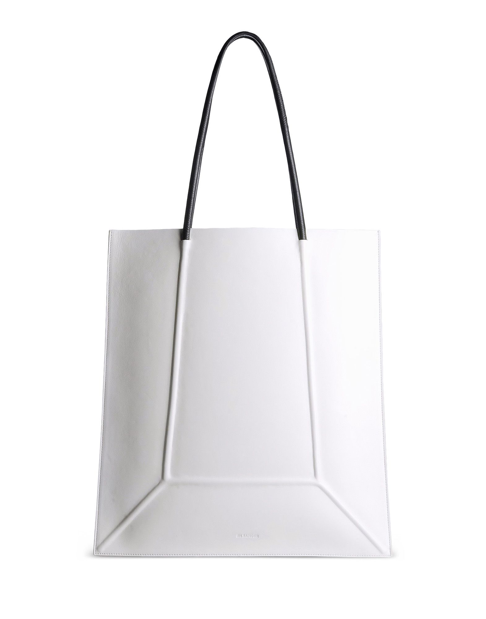 large tote bag - White Jil Sander 2RqW6xN4z