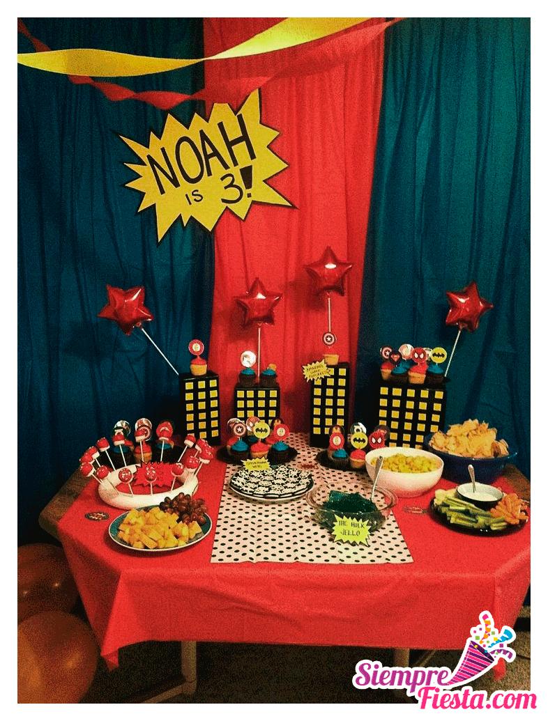 Incre bles ideas una fiesta de cumplea os con los - Cosas para fiestas de cumpleanos ...