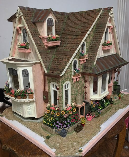 My Miniature Madness: Growing A Cottage Garden Part 5 #dollhouses