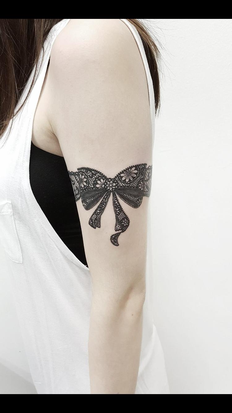 Lace Bow Tattoos : tattoos, Tattoo, Designs,, Tattoo,, Tattoos