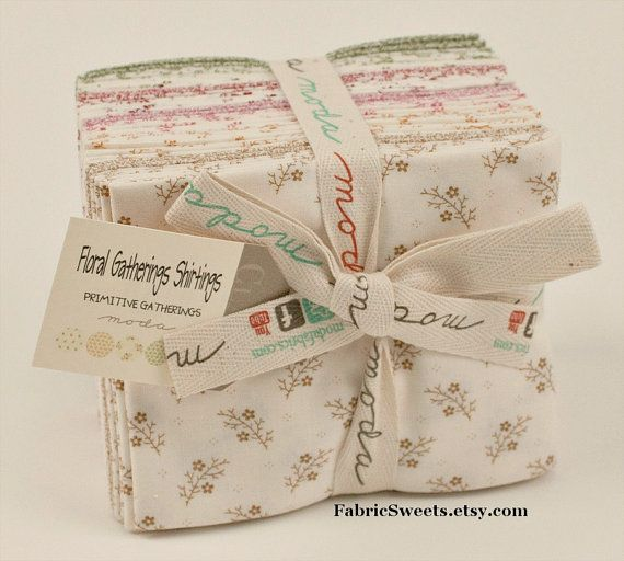 FLORAL GATHERINGS by Primitive Gatherings for Moda by FabricSweets, $68.00
