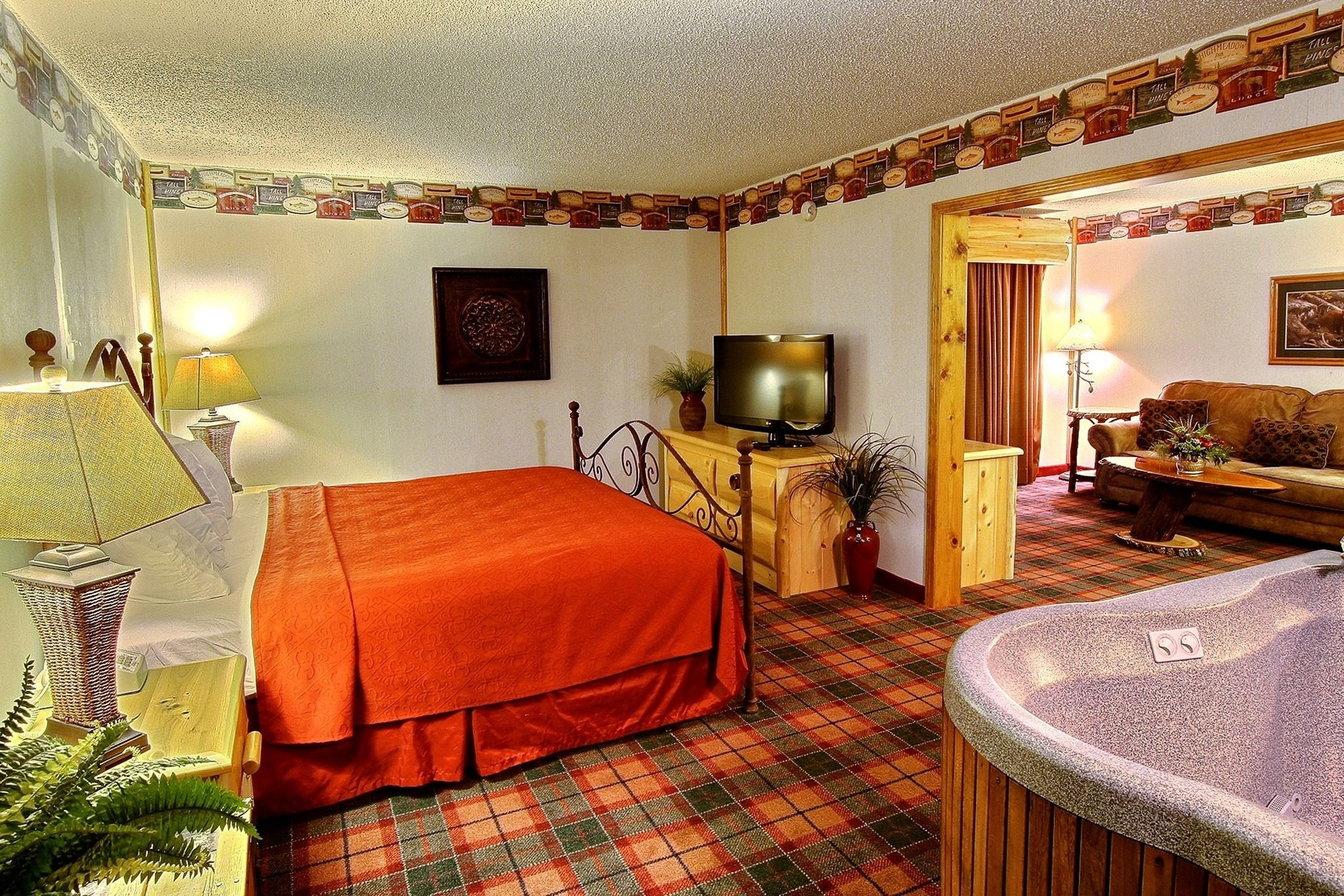 West Branch Quality Inn Bridal Suite With Hot Tub With Images