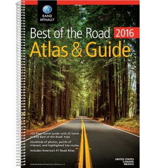 2016 Best of the Road Atlas & Guide NEW Road trip