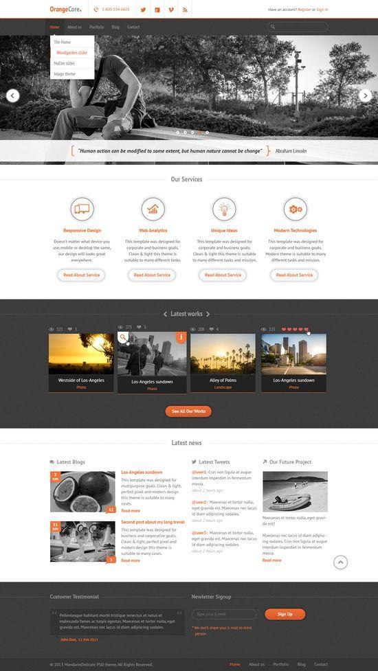 Clean Corporate Web Design Web Http Amazingwebdesignideas Blogspot Com Corporate Web Design Web Development Design Modern Website Design