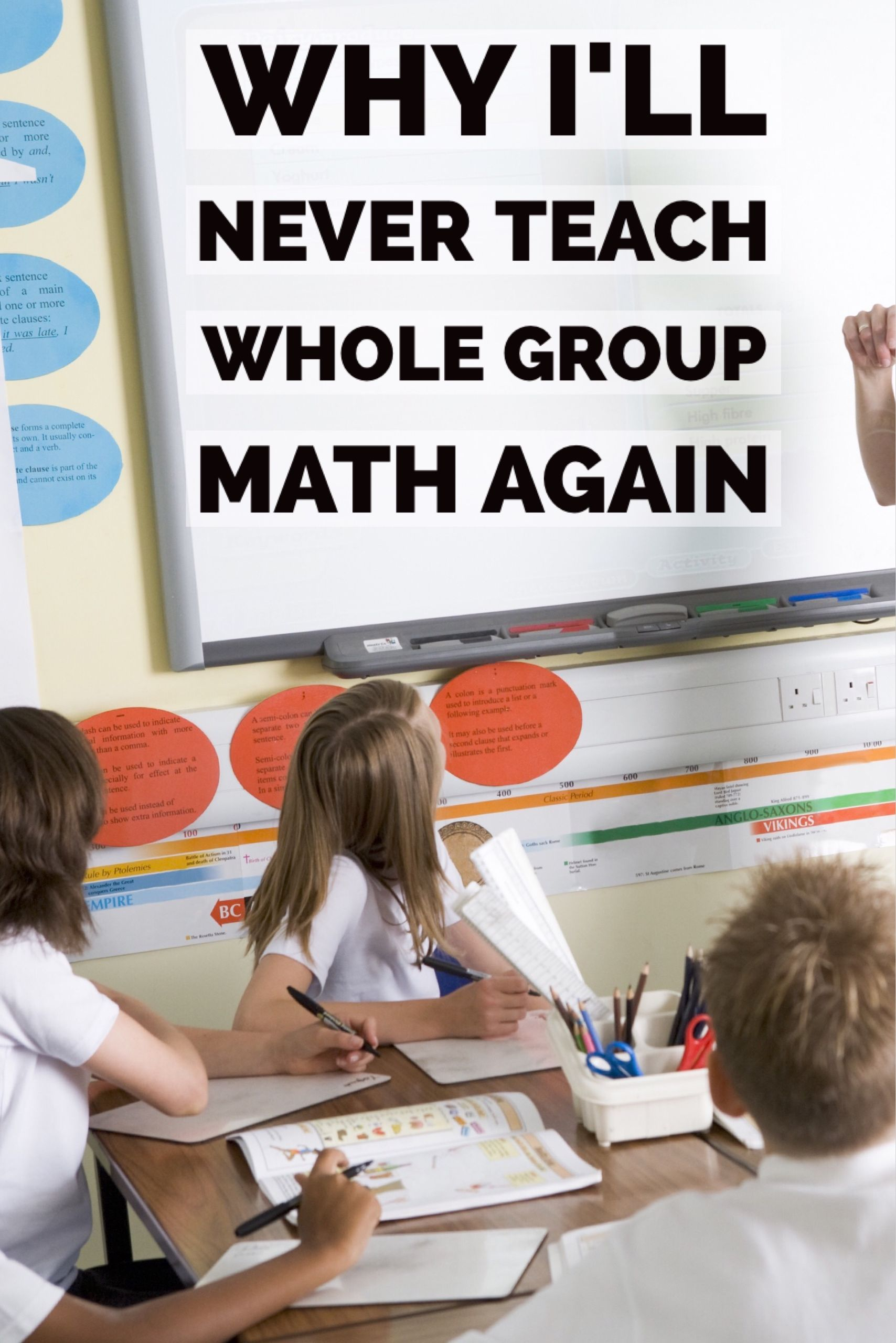 Detailed Differentiated Math Rotations Explained With Easy Organized Directions Lots Of