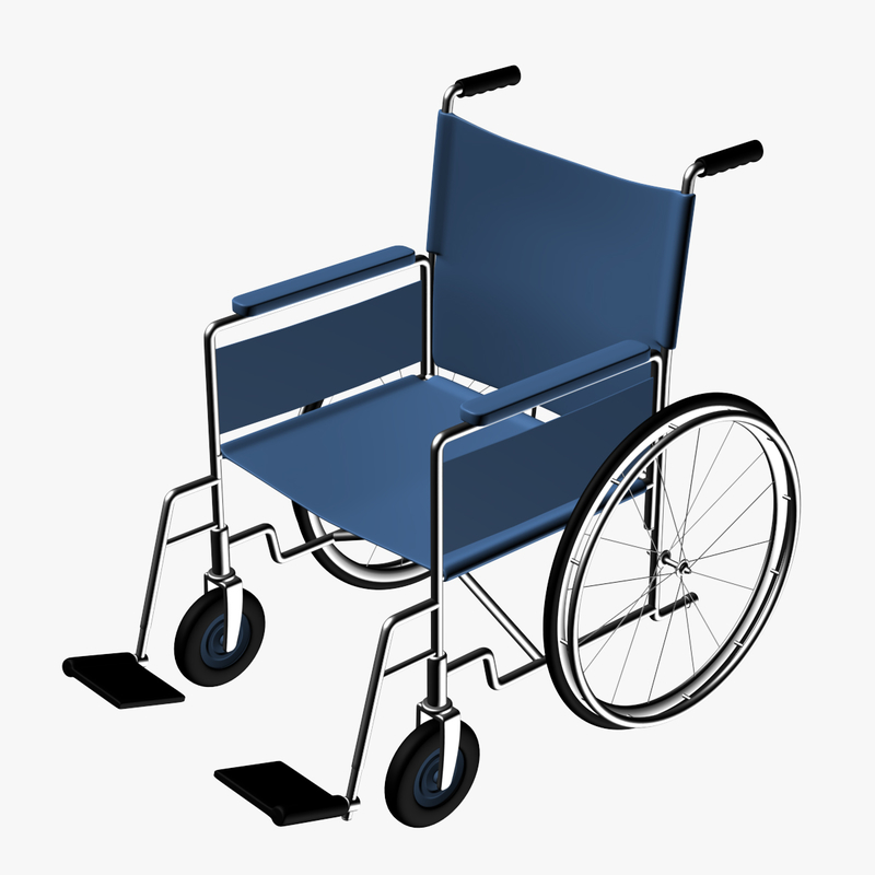 Wheel Chair Wheelchair 3d Model White Dining Chairs Dining Room Decor Diy Cool House Designs
