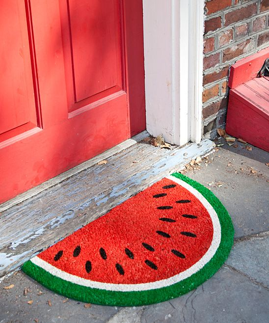 Watermelon Doormat From My House Watermelon Home