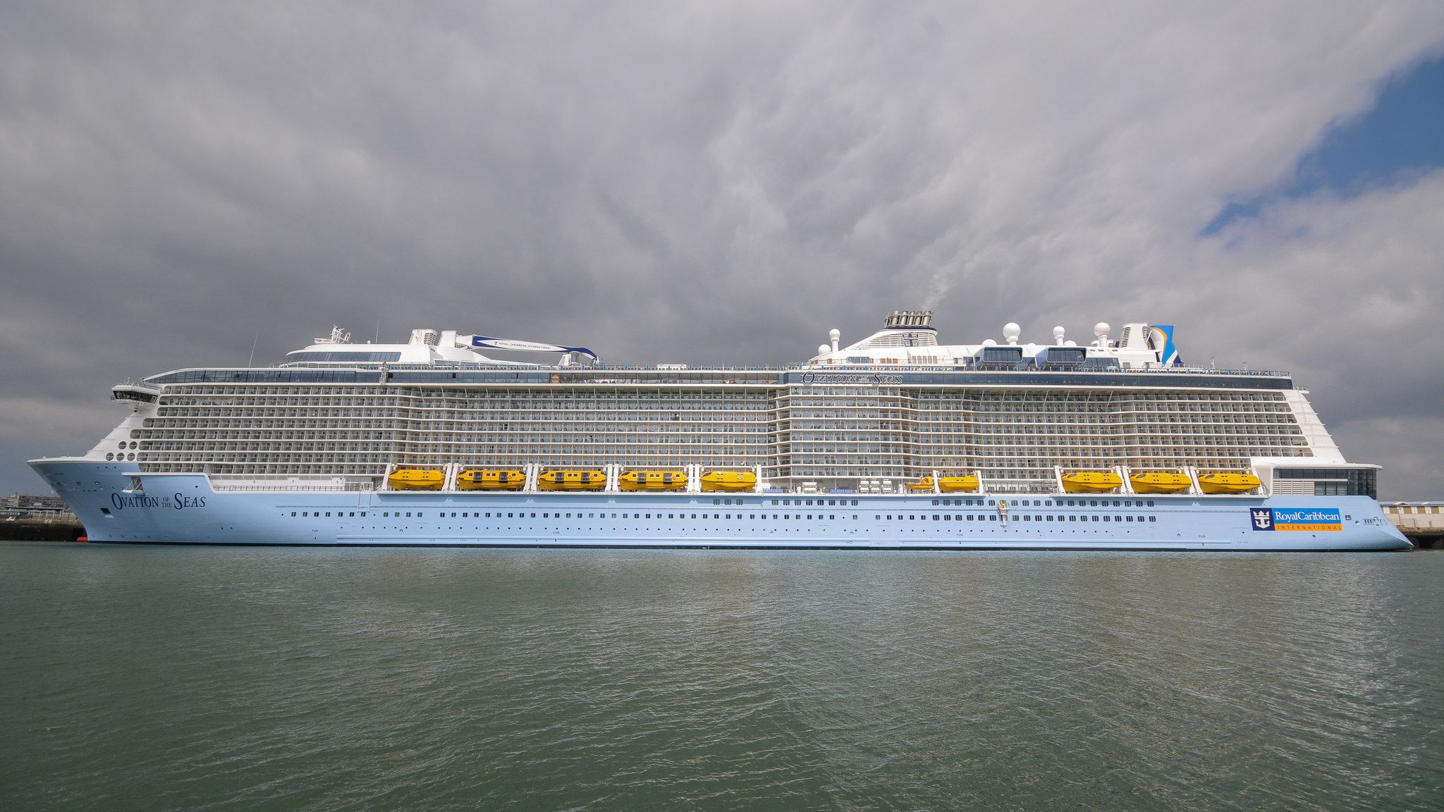 https://flic.kr/p/H3knrW | OVATION OF THE SEAS | Le Havre, France 19/04/2016 Maiden Call, Escale Inaugurale