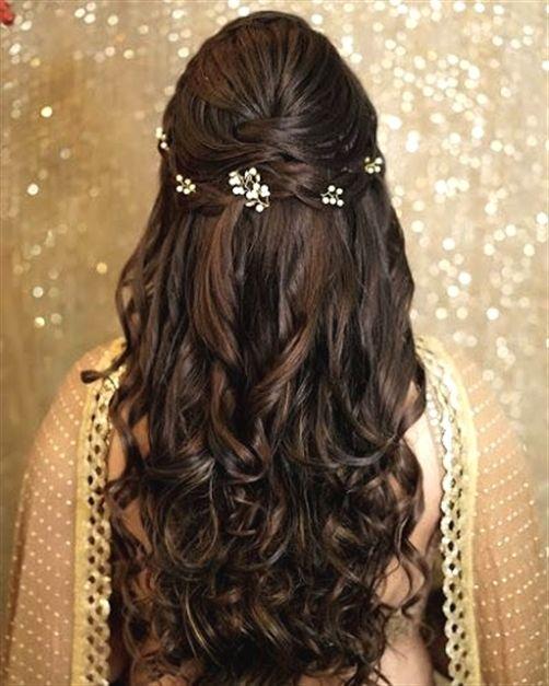 "Wedding Hairstyle With Lehenga: Orange The Salon ""Portfolio"" Album"
