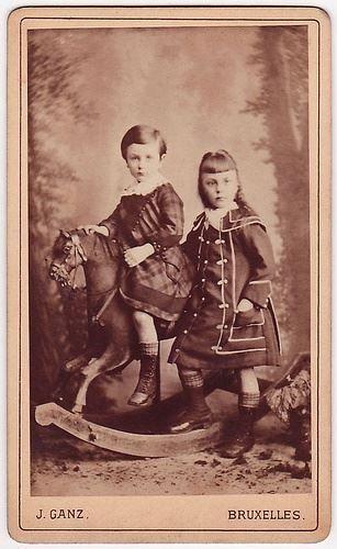 Antique children photo