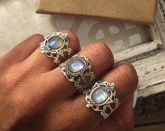 12x6 Marquise Cut Labradorite Ring Unique Engagement Ring Faceted Labradorite Ring Labradorite Engagement Ring Labradorite Jewelry