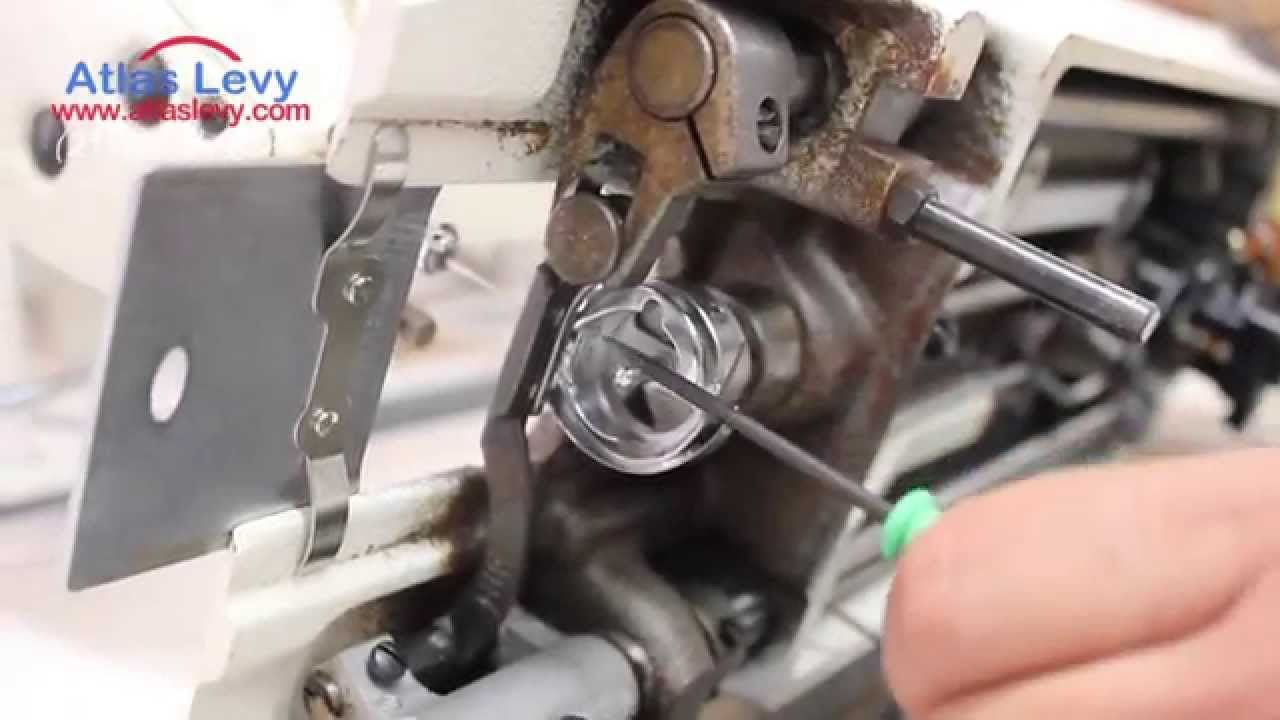 How To Fix He Hook Timing On An Industrial Sewing Machine Sewing