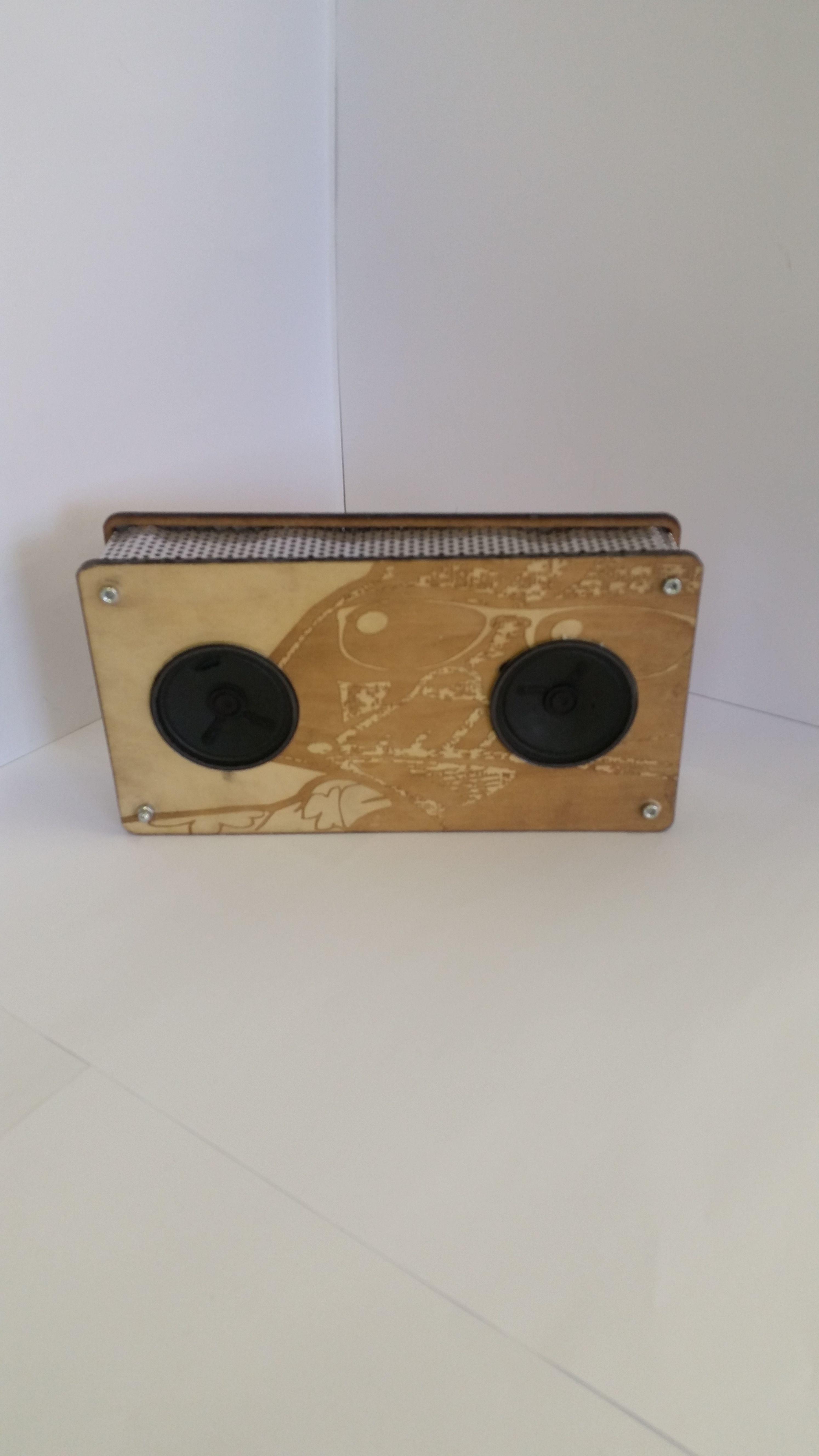 gcse product design aqa, mp3 speaker based on existing design