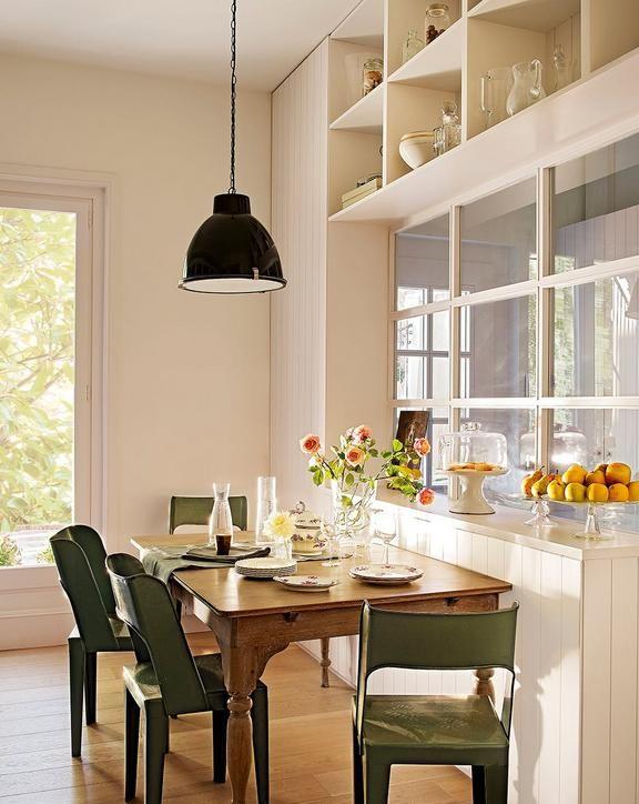 Cómo ganar metros en la cocina para poner una mesa | Wohnideen und Küche