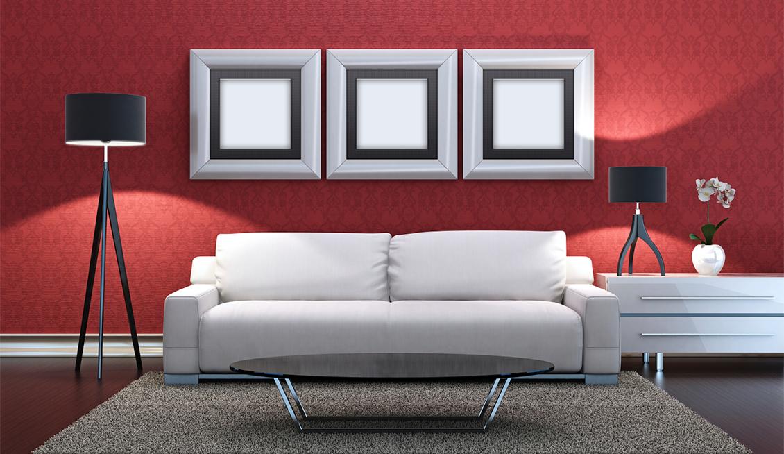 Como Combinar Mis Muebles Blancos Con Las Paredes Muebles Blancos Muebles Salon Retro