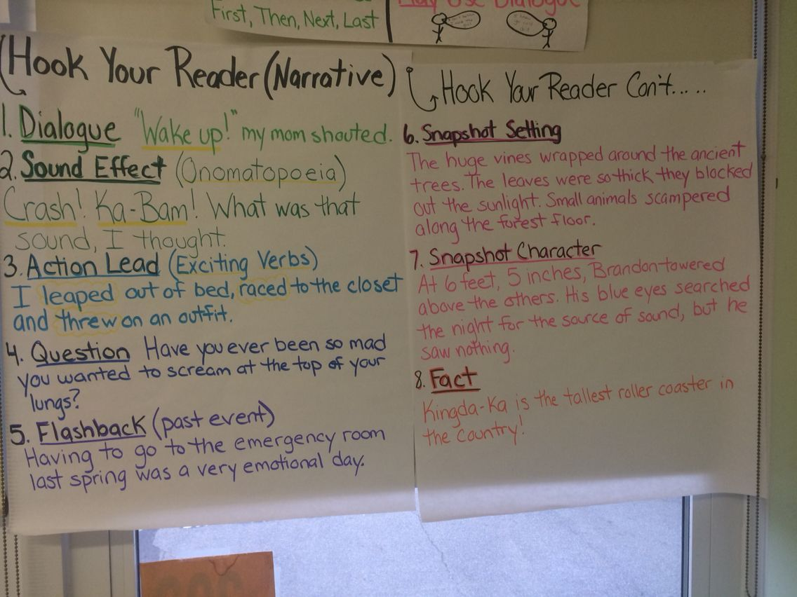 Hooking Your Reader Bold Beginnings Narrative