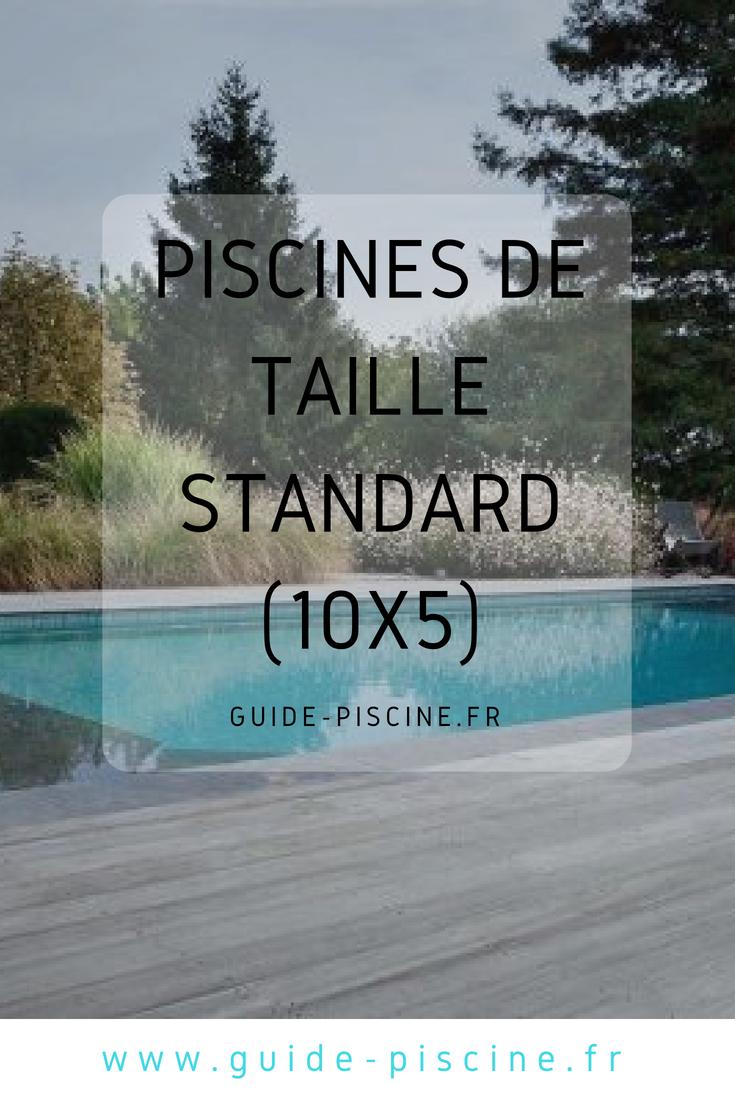 Toutes Nos Inspirations De Piscine De Taille Standard Pour Votre Jardin Construction Maison Photo Piscine Piscine Construire Une Piscine
