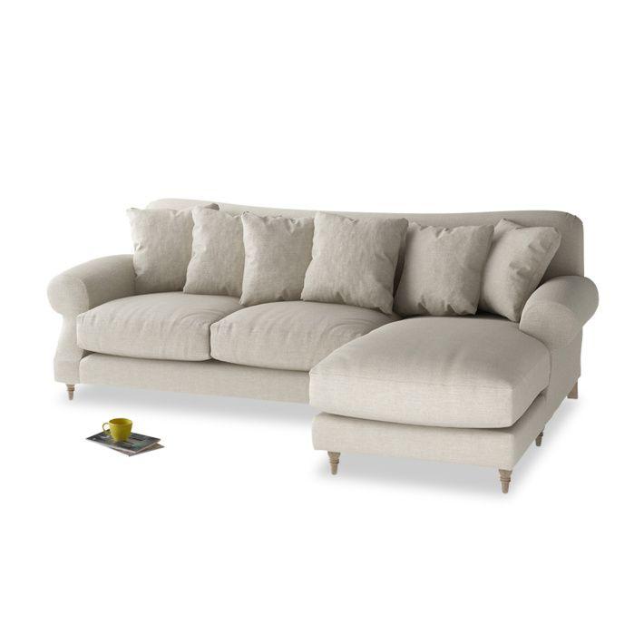 Crumpet Chaise Sofa Is A Deep Comfy Sofa With A Classic Shape Handmade In Britain Chaise Sofa Sofa Comfy Sofa