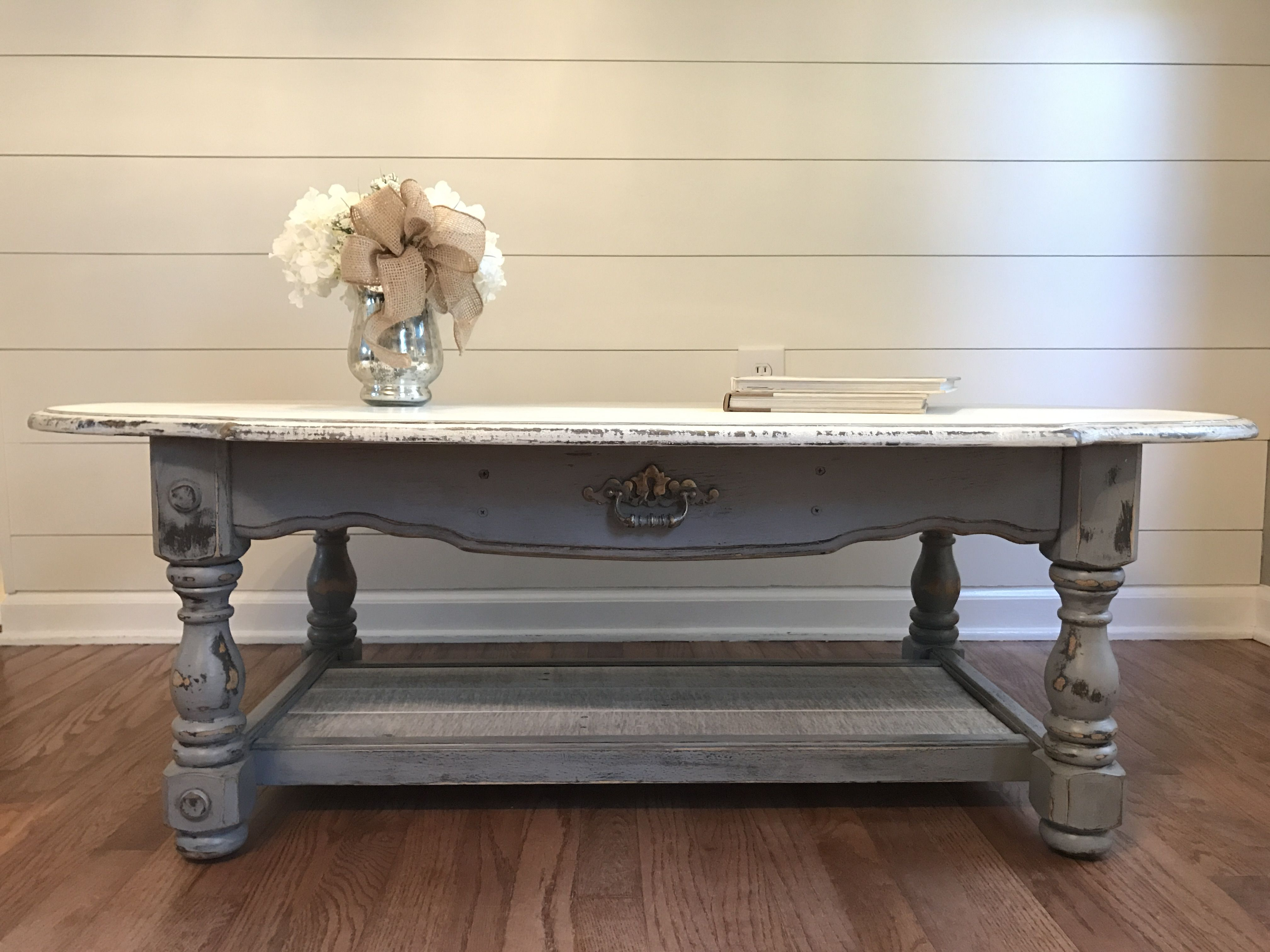 Unique Farmhouse Shabby Chic Coffee Table Project Gallery