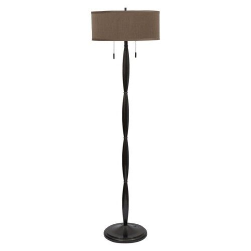 Floor lamp with painted bronze finish 2 bulb in target mobile floor lamp with painted bronze finish 2 bulb in target mobile aloadofball Images