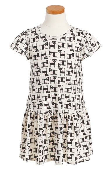 Tucker & Tate Print Jersey Dress (Toddler Girls, Little Girls & Big Girls) available at #Nordstrom