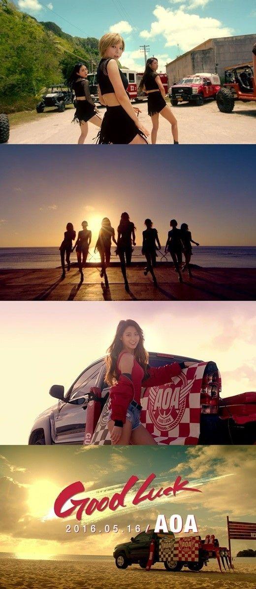 "AOA、新曲「Good Luck」MV予告映像を公開""華麗なパフォーマンス"" - K-POP - 韓流・韓国芸能ニュースはKstyle"