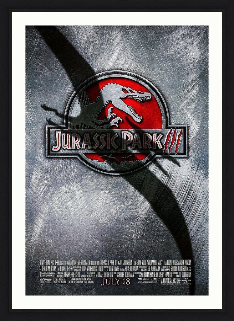Jurassic park 3 2001 in 2020 jurassic park film