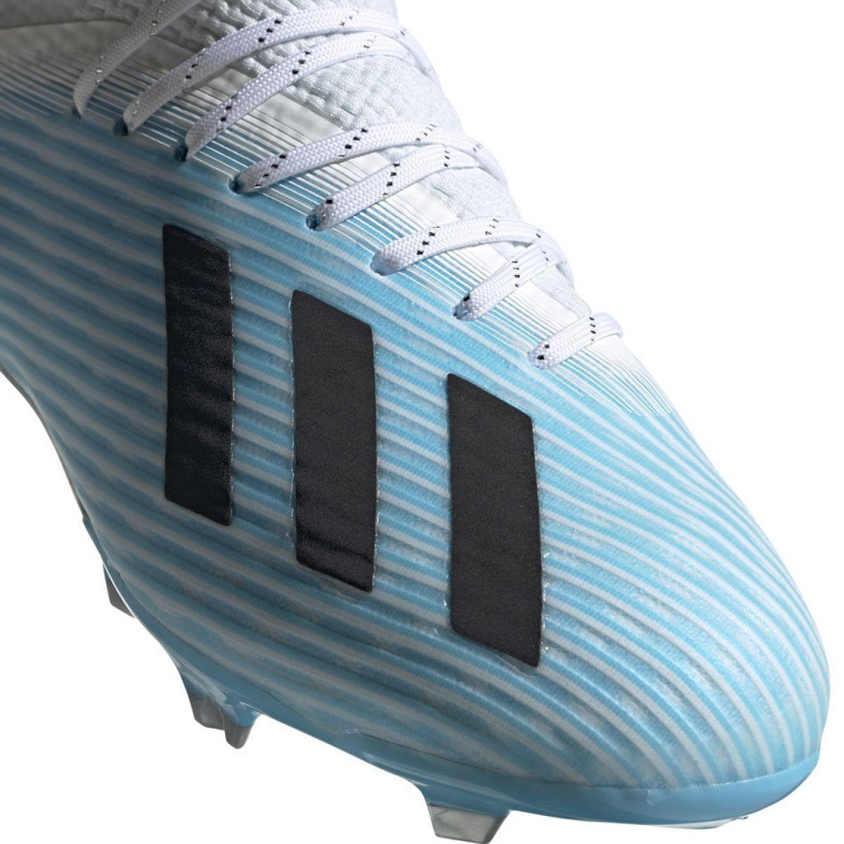 Adidas X 19 1 Fg Jr F35684 Football Shoes Multicolored Blue Football Shoes Football Adidas Football