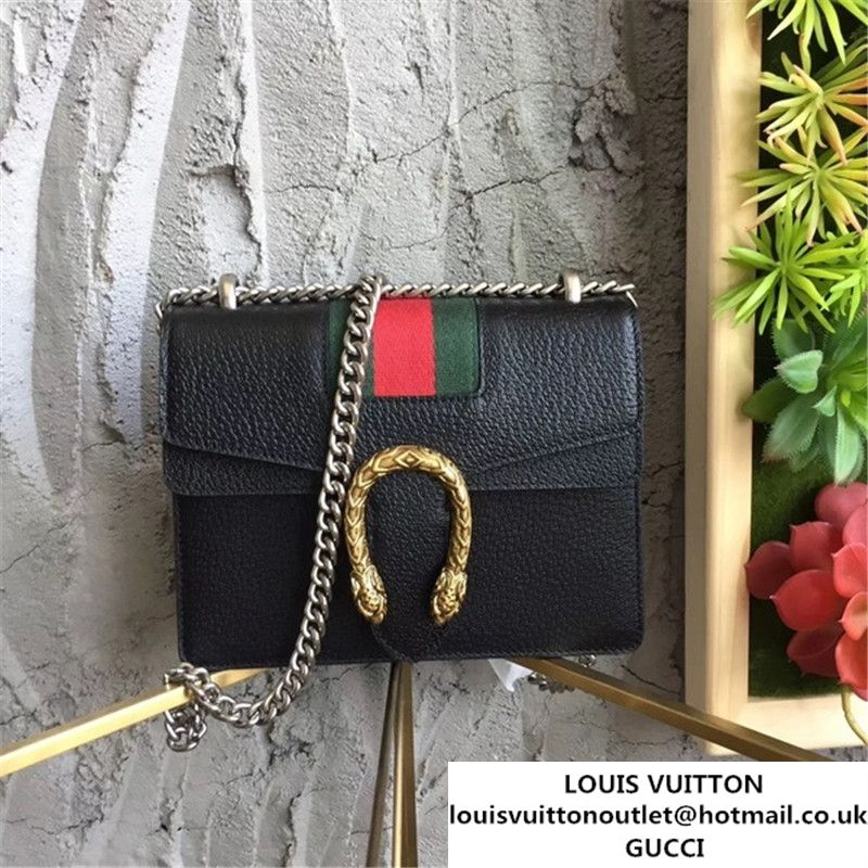 9d66a6cc3 Gucci Dionysus Mini 20cm Shoulder Bag Gold Hardware Spring Summer 2017  Collection Black
