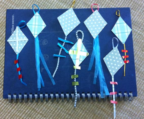 Mini Kites For Makar Sankranti A Spoonfull Of Ideas Kids Crafts