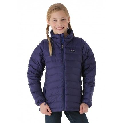 a45feddb80d0 Patagonia Girls Down Sweater (Blue Butterfly)