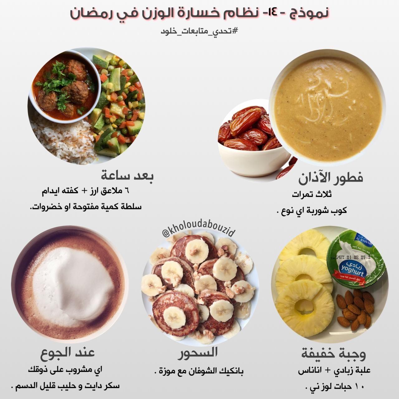 نموذج لرجيم رمضان In 2021 Health Facts Food Health Fitness Nutrition Healty Food