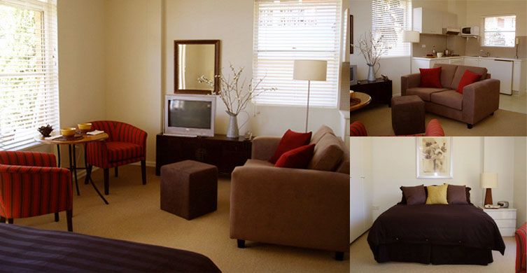 A great, minimal layout for a very small studio apartment Studio