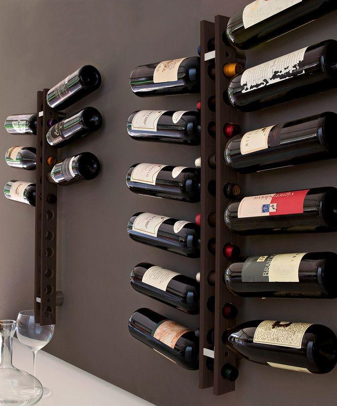 Portabottiglie da parete portabottiglie pinterest - Porta vino ikea ...