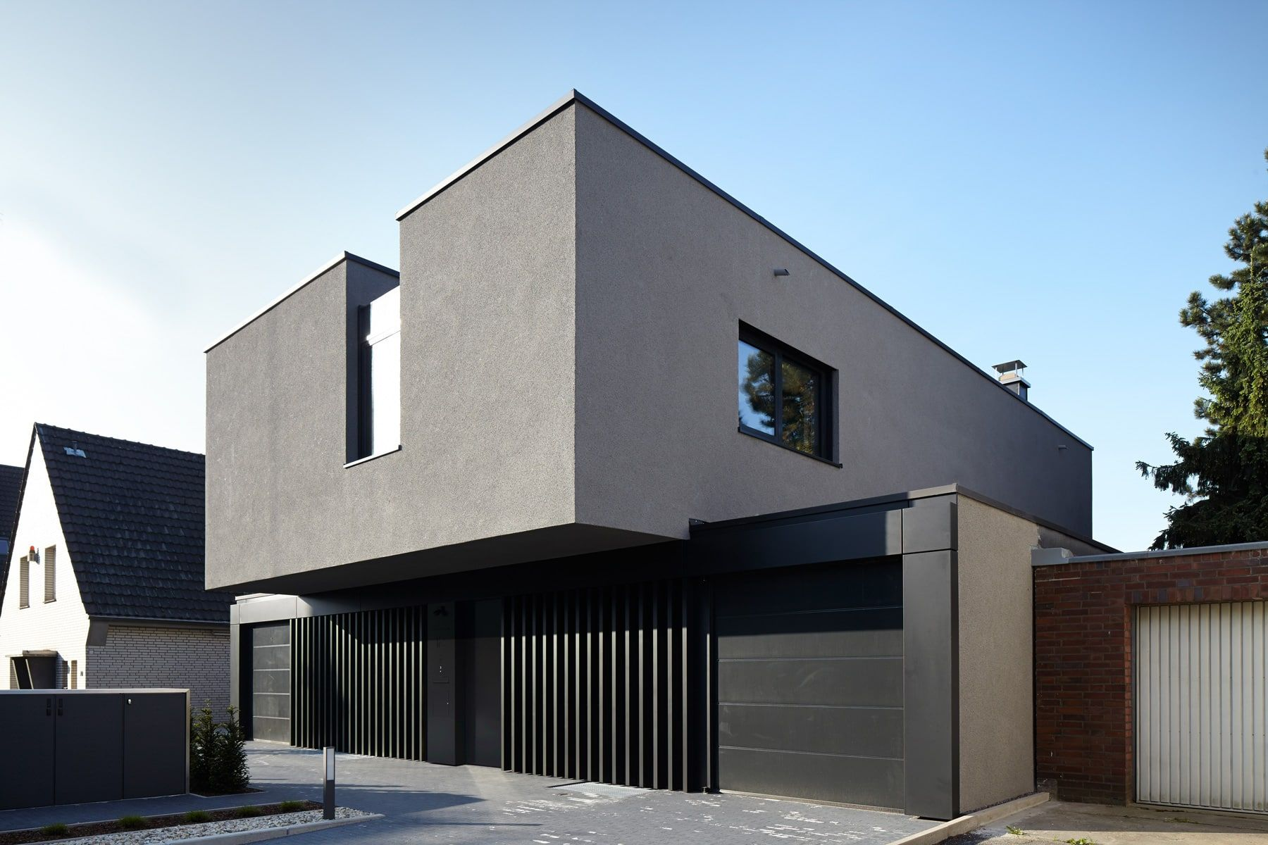 Moderne einfahrten einfamilienhaus  Pin von Robert Mateja auf Haus | Pinterest | Einfamilienhaus ...