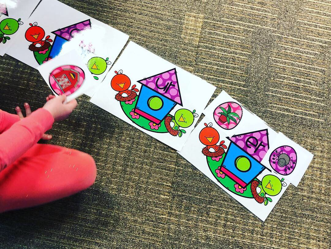 Spring R Controlled Vowel Activities